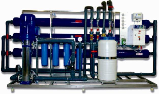 Промышленная система обратного осмоса воды